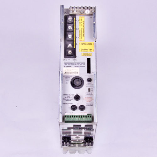 INDRAMAT A.C. POWER SUPPLY TVM 1.2-050-220/300-W1/220/380